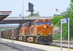 BNSF  6407,  CP's   Tomah   Sub.